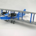 LEGO vintage aircraft model